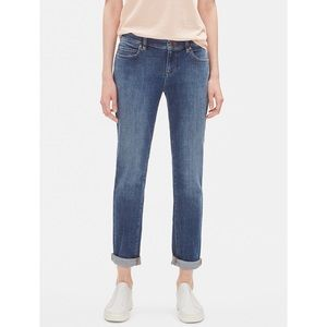 Eileen Fisher Organic Cotton Boyfriend Jeans, 6